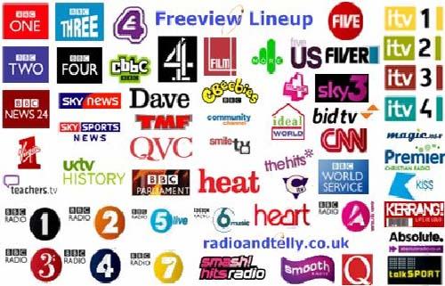 Digital TV Channels