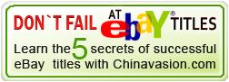 eBay titles