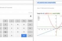 """Instant"" online calculator – Google calculator in search results"