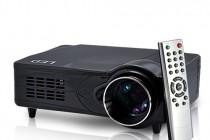 LED Multimedia Projector – 2200 Lumens, 1080P, HDMI, VGA, AV, YPrPb