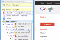 Tree Style View Of Chrome Tabs
