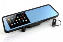 Chinavasion's Choice: Shift – Android Rear View Mirror with Dual Core CPU, 5 Inch Capacitive Touchscreen, GPS and Dash Cam