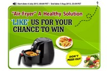 Like & Win Air Fryer From Chinavasion Sweepstakes