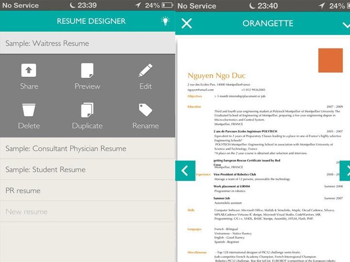resume-designer