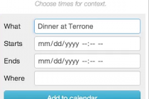 Spot for Chrome: Add Google Calendar Entries Right from Webpage