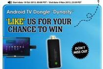 Facebook Like to Win Quad Core Android TV Dongle