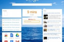 Google Now-Inspired New Tab Page For Chrome
