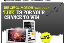 Like Us to Win Quad Core Android Tablet + Phone – Ceros Motion From Chinavsion