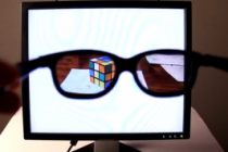 Make a Computer Monitor That Only You Can See