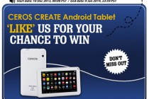 "Like & Win 7 Inch Dual Core Android Tablet – ""Ceros Create"" From Chinavasion!"
