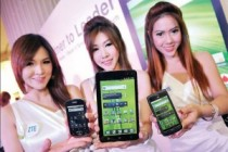 Competitors from China: ZTE Android Phones