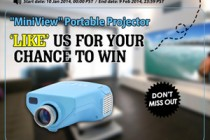"""Like Us to Win Portable Video Projector """"MiniView"""" From Chinavasion!"""
