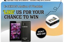 Facebook Sweepstakes: Winners of the E-Ceros Motion S Phablet Announced!