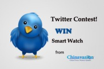 Twitter Contest, Free Smartwatch in Chinavasion!