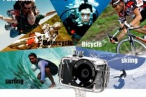 High Res Sports Camera Syncs with Smartphone