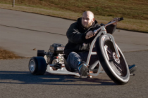 The Big Wheel Drift Trike Proportioned to Make Riders Feel Like a Kid Again
