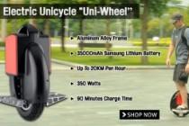 Electric Human Transporter Uni-Wheel Making Electric Car Manufacturers Nervous