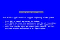 Steve Ballmer wrote Windows' classic Crtl+Alt+Delete text