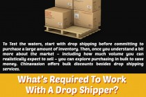 How Drop Shipping Works – The Ultimate Infographic Guide by Chinavasion