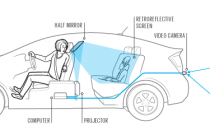 The First Transparent Car
