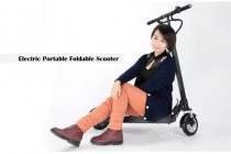 """Chinavasion's Choice: Electric Portable Folding Scooter 'E-Scooter' – """"Don't be left behind"""""""