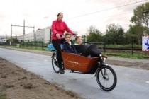 The Worlds First Solar Bike Lane