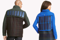New Wearable Tech: Tommy Hilfiger Jacket with Solar Panels