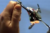A Drone that can sit in the Palm of your Hand
