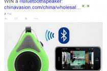 Win A Bluetooth Speaker!