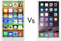 Blackview Ultra A6 versus the Apple iPhone 6