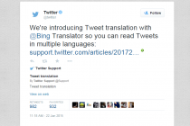Twitter Announces Automatic Translation Of Tweets