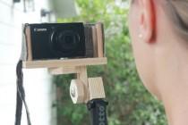 DIY Selfie Stick with Wind Screen Video