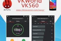 VKWorld VK560 AnTuTu Benchmark Test