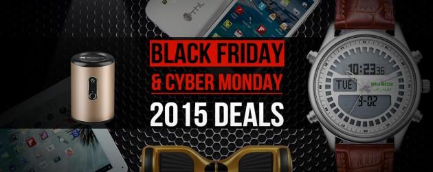 Black Friday + Cyber Monday Deals 2015