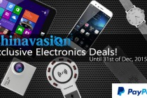 PayPal Exclusive: Extreme Deals At Chinavasion Until 31st December 2015