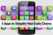 5 Apps to Simplify your Daily Chores