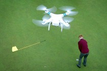 Drones Replace Caddies on Japanese Golf Courses
