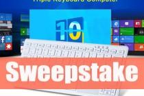 Enter to Win Windows 10 – 72 Keys Keyboard PC – Chinavasion Sweep-stake in April!