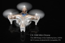 Top Electronic Videos of the Week: CX-10W Mini Drone, Bluetooth LED Lamp Speaker and more