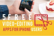 5 Free Video-Editing Apps for iPhone Users