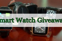 Free Giveaway – Top 5 Android Smart Watches in Chinavasion!