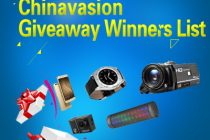 Check Out Who Were The Previous Lucky Winners Of Chinavasion's Sweepstake Actions In Our Giveaway Winner's List!