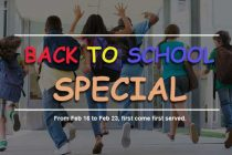 Back to School Special, Start Now!