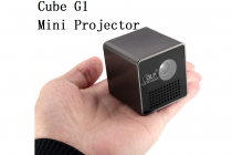 Chinavasion Choice: Carry Along Your Own Private Cinema Anywhere You Go With The Cube G1 Mini DLP Projector