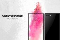 Maze Alpha – China's Latest Bezel-Less Android Phone