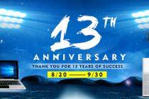 Chinavasion 13th Anniversary Promotion