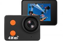Waterproof 4K Sports Action Camera Follows Anywhere You Go