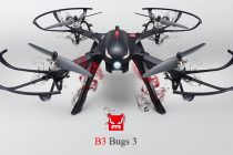 The MJX B3 Bugs 3 RC Drone Knows No Limits